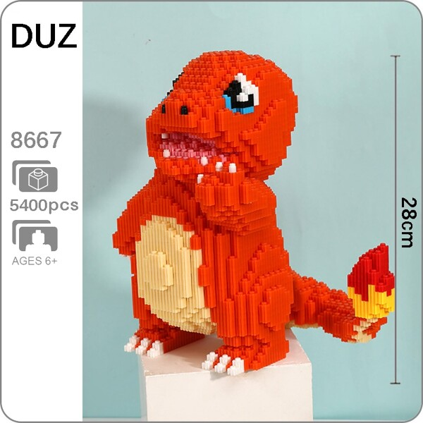 DUZ 8667 Charmander Pocket Monster Mini Bricks