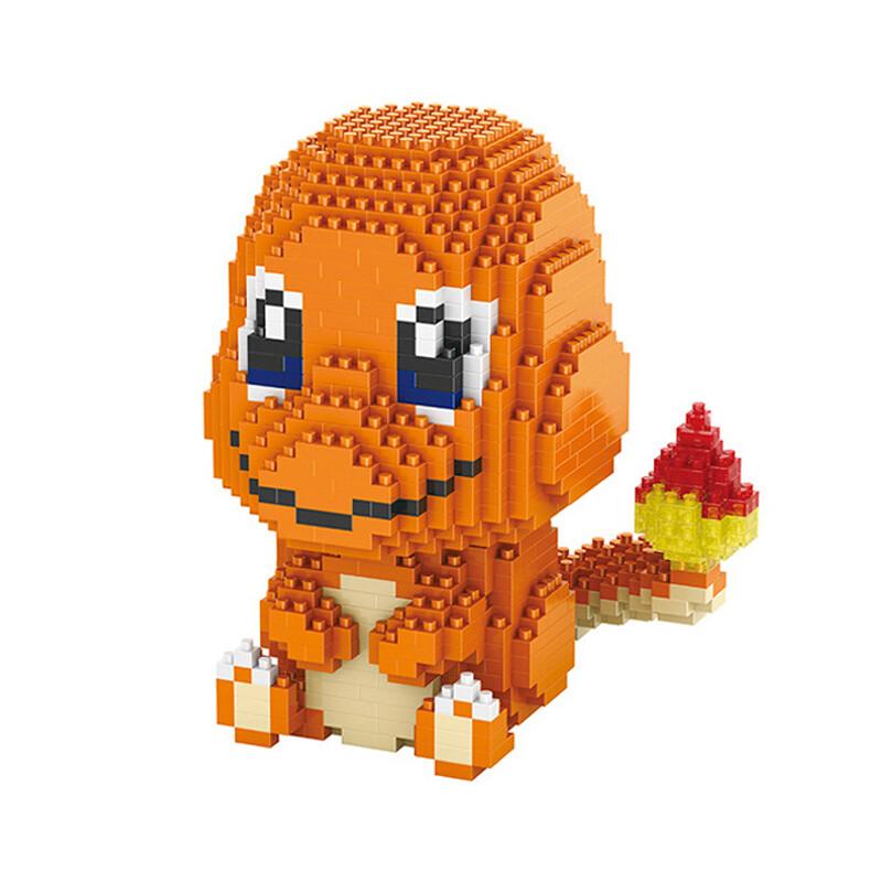 HC 9102 Charmander Pocket Monster Sit Mini Bricks