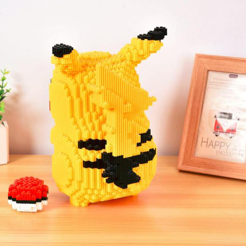 DUZ 8607 Pikachu Pocket Monster Mini Bricks