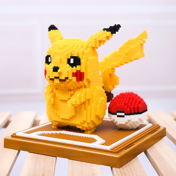LNO 157 Pikachu Pocket Ball Mini Bricks