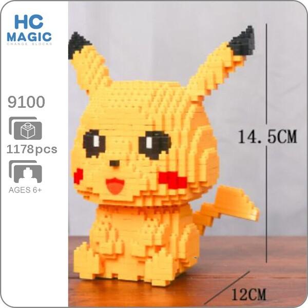 HC 9100 Pikachu Sit Mini Bricks