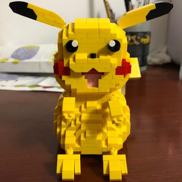 LOZ 9224 Pikachu Pocket Monster Mini Bricks