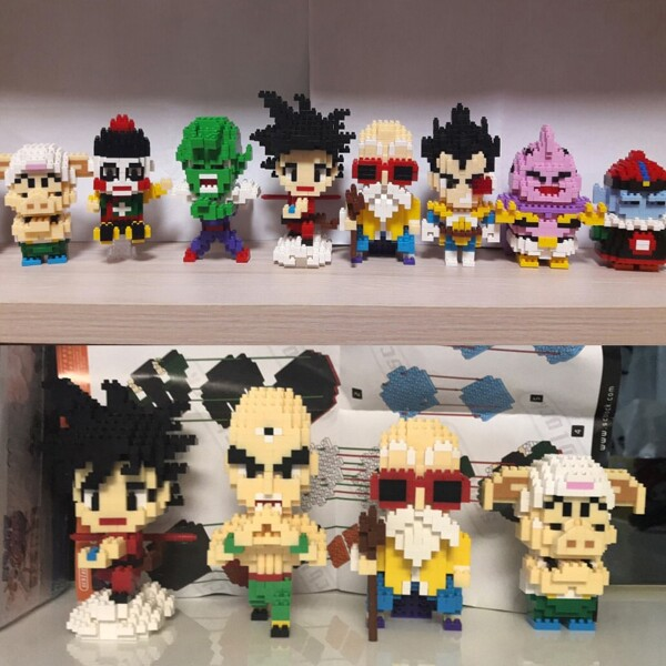 SC 3001-3017 Dragon Ball Series Bundle Mini Bricks