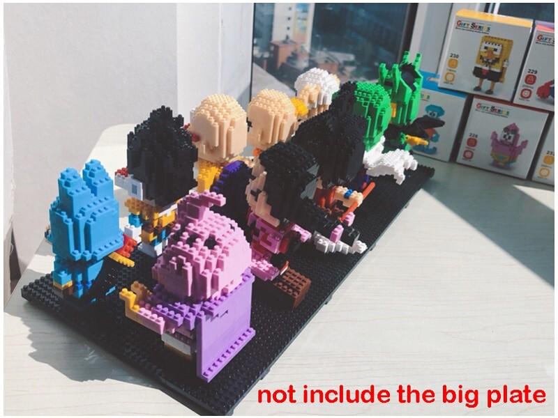 SC 3001-3017 Dragon Ball Series Bundle Mini Bricks