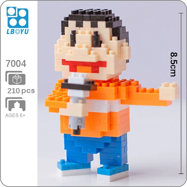 BOYU 7004 Konta Takeshi In Series Stand By Me Doraemon Mini Bricks