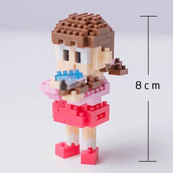 BOYU 7002 Shizuka In Series Stand By Me Doraemon Mini Bricks