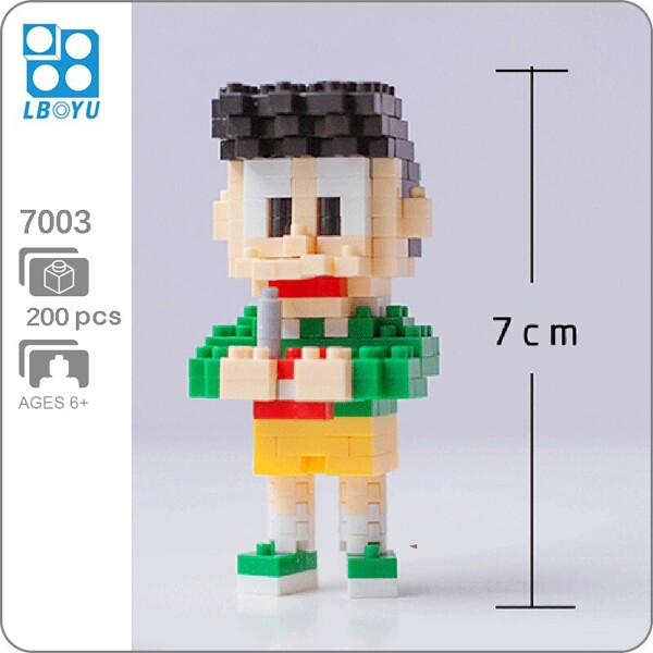 BOYU 7003 Honekawa Suneo In Series Stand By Me Doraemon Mini Bricks