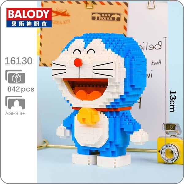 BALODY 16130 Doraemon Stand Mini Bricks