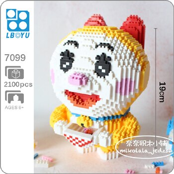 BOYU 7099 Doraemi Mini Bricks