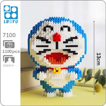 BOYU 7100 Doraemon Basic Mini Bricks