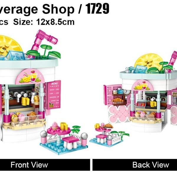 LOZ 1729 Beverage Shop