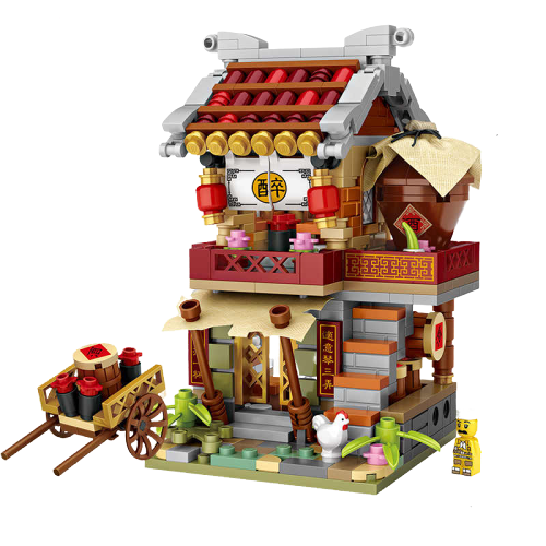LOZ 1722 Buns Shop Mini Bricks