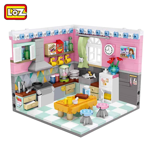 LOZ 1903 Kitchen Mini Bricks