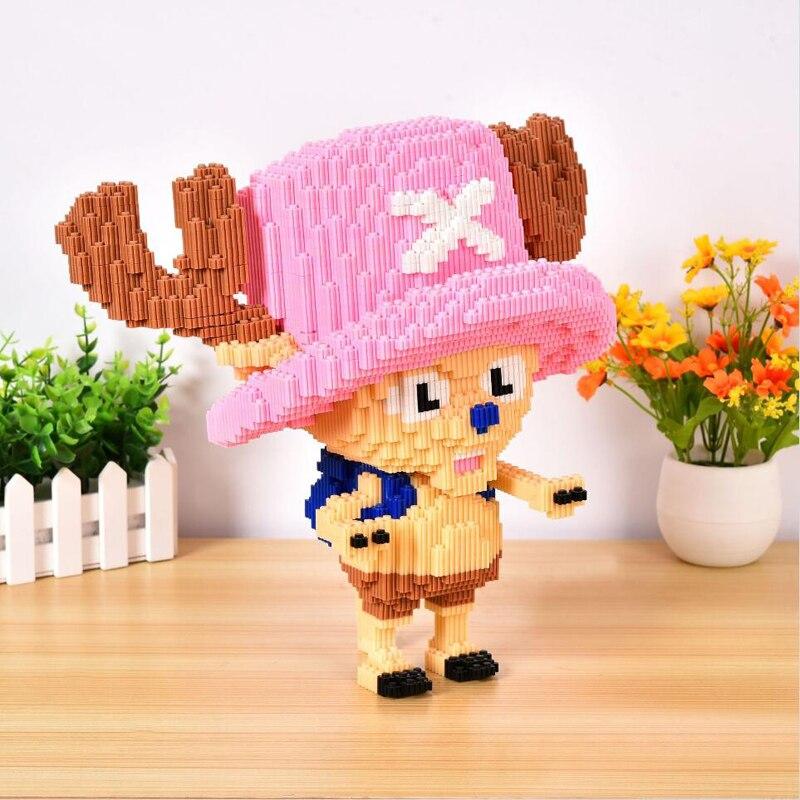 XIZAI 8632 Tony Chopper One Piece Brickheadz