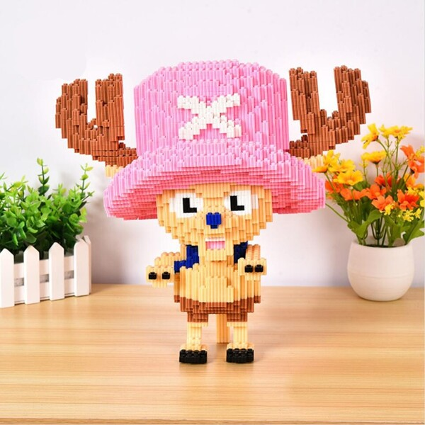 XIZAI 8632 Tony Chopper One Piece Brickheadz
