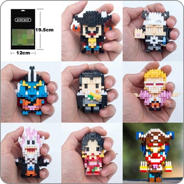 BALODY 030 One Piece Pirate Joker Buggy Diamond Blocks