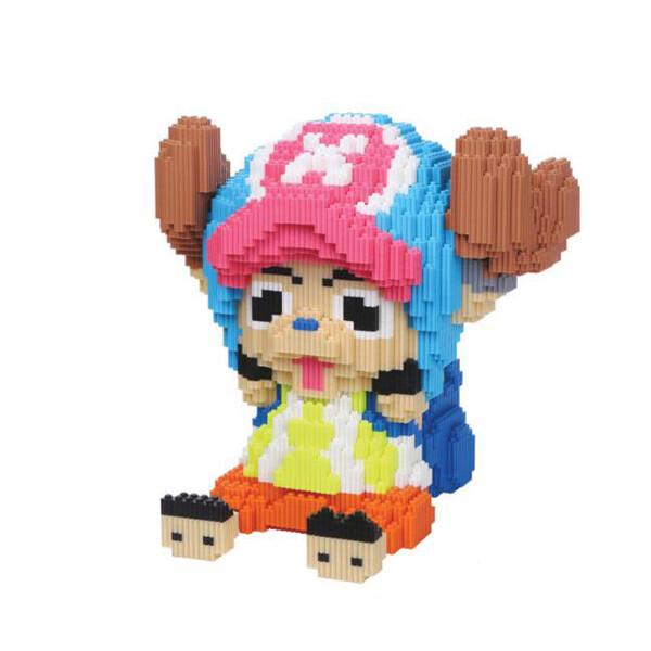 XIZAI 8016 Tony Chopper One Piece Brickheadz