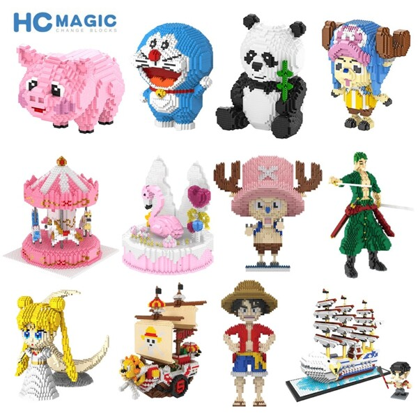 BALODY 1003-9887 Cartoon Anime Characters