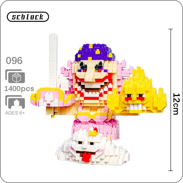 SC 096 Big Mom Charlotte Linlin One Piece Brickheadz