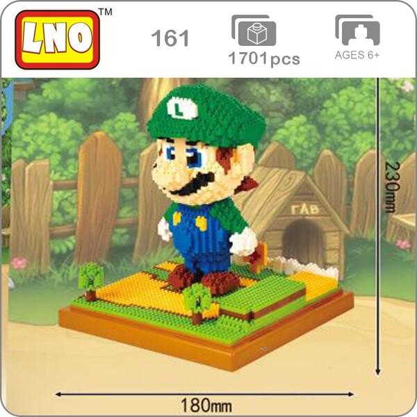 LNO 161 Super Mario Luigi Green Brickheadz