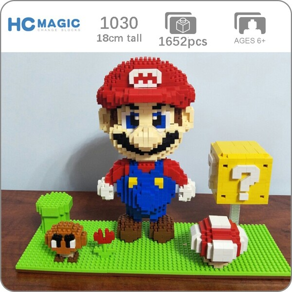 HC 1030 Super Mario Goomba Coin And Mario Brickheadz