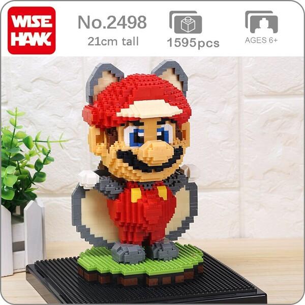 WISE HAWK 2498 Super Mario Flying Squirrel Raccoon Mario