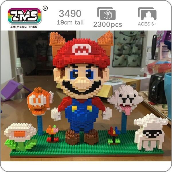 ZMS 3490 Super Mario Tanooki Mario and Ghost