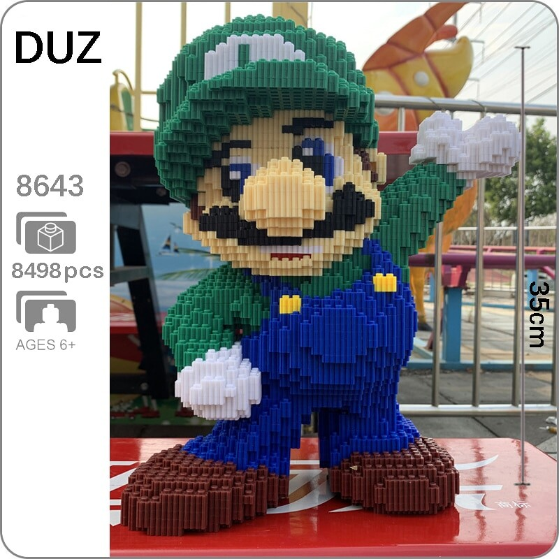 DUZ 8643 Super Mario Big Luigi Wave Brickheadz
