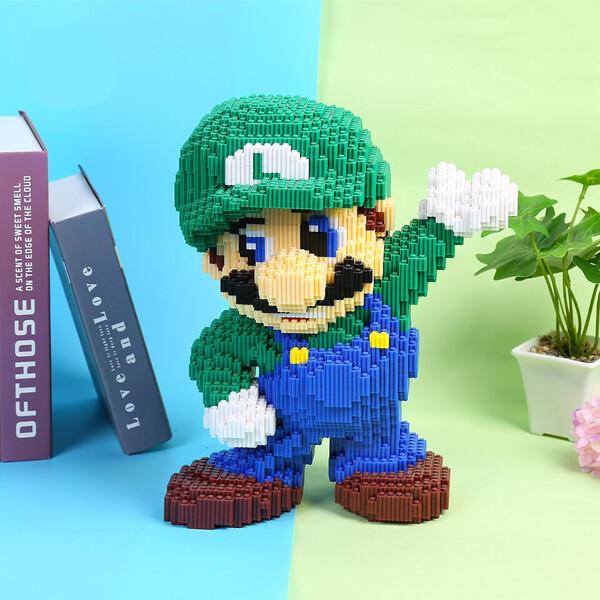 DUZ 8643 Super Mario Big Luigi Wave