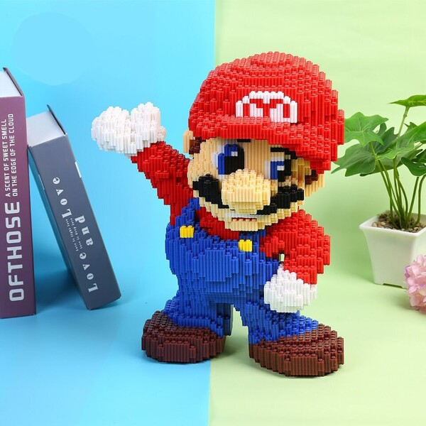 DUZ 8642 Super Mario Big Mario Wave Brickheadz