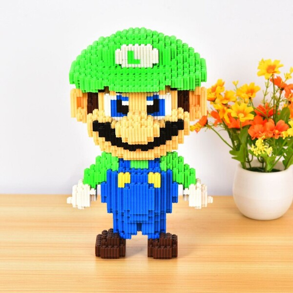 DUZ 8622 Super Mario Big Luigi Bricksheadz