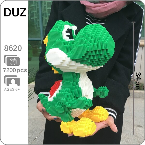 DUZ 8620 Super Mario Big Yoshi Monster Brickheadz