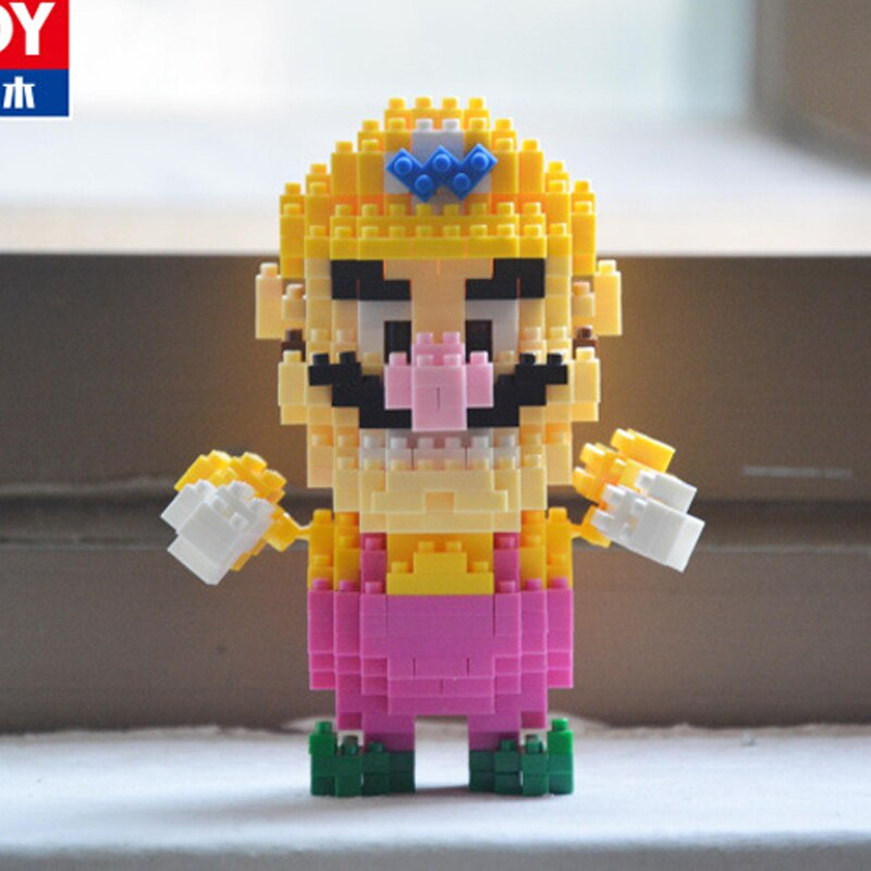 BALODY 18042 18043 18044 18045 18046 18047 18048 18049 Super Mario Figure Bundle Brickheadz