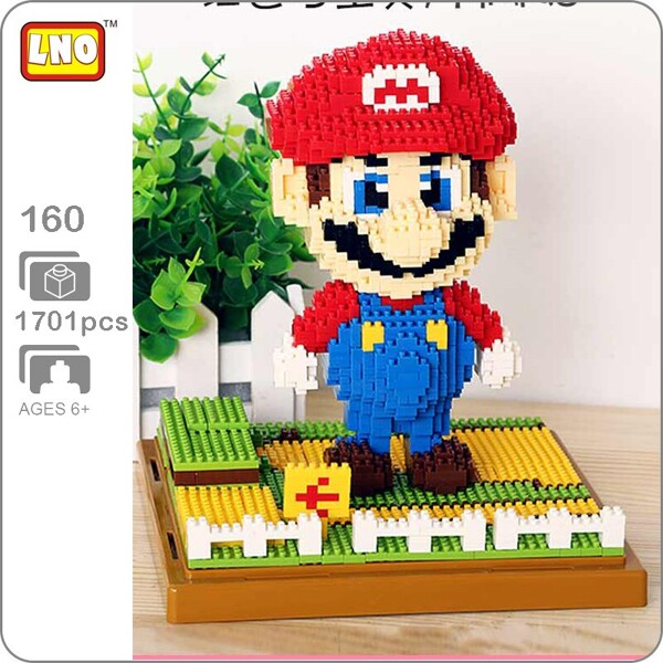LNO 160 Super Mario Red Big Brickheadz
