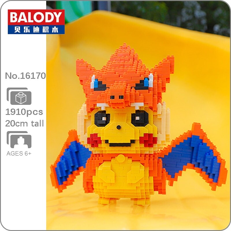 BALODY 16170 Charizard Pikachu