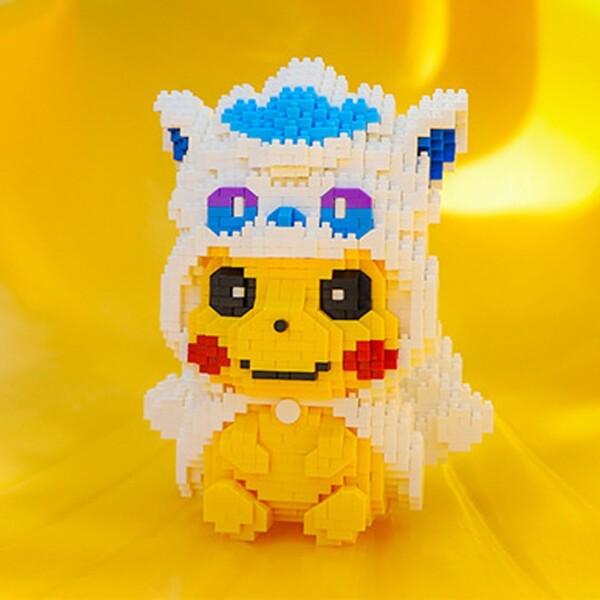 BALODY 16169 Vulpix Pikachu Brickheadz