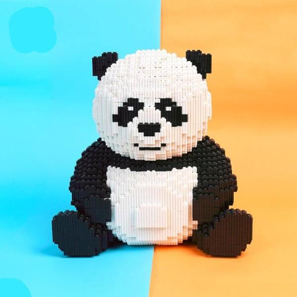 DUZ 8616 Panda Brickheadz