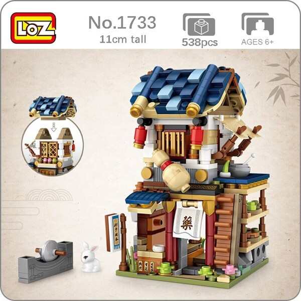 LOZ 1733 Pharmacy Medicine Chinatown
