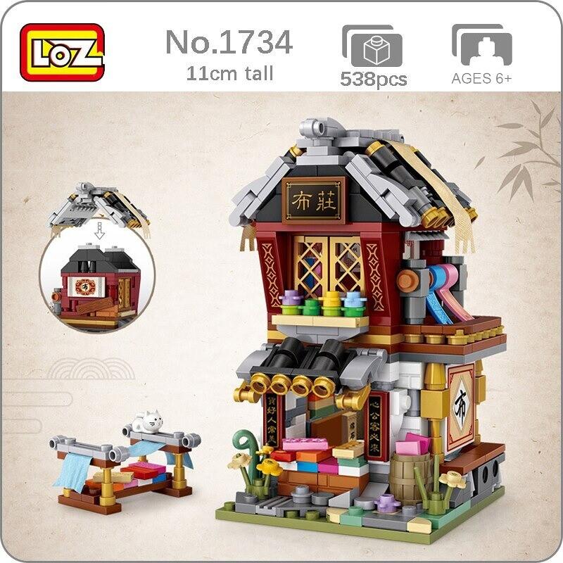LOZ 1734 Cloth Shop Chinatown