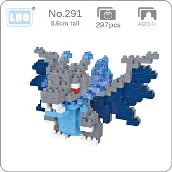 LNO 290 Articuno Bird Pocket Monster Mini Bricks