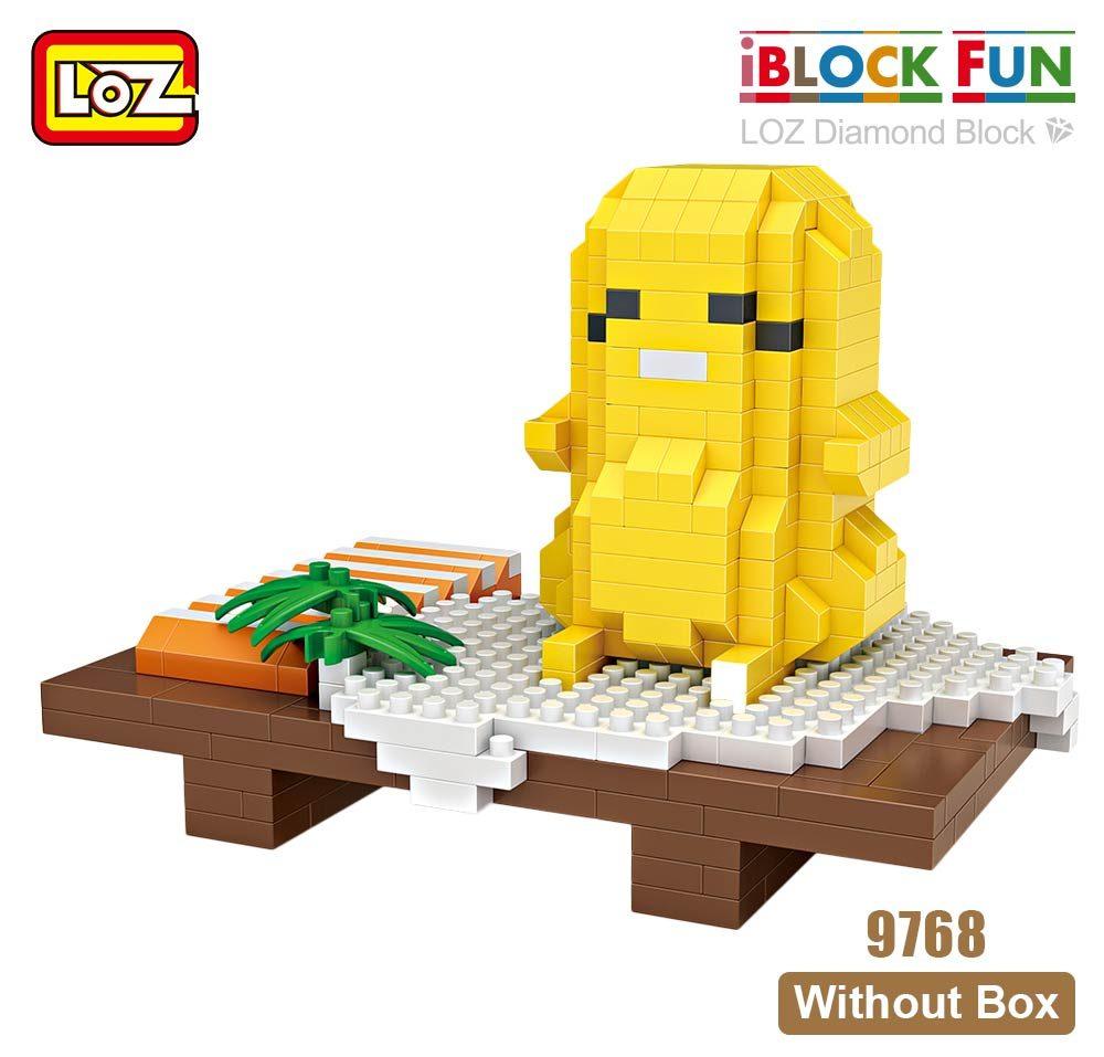 LOZ 9768 Egg Sushi Brickheadz