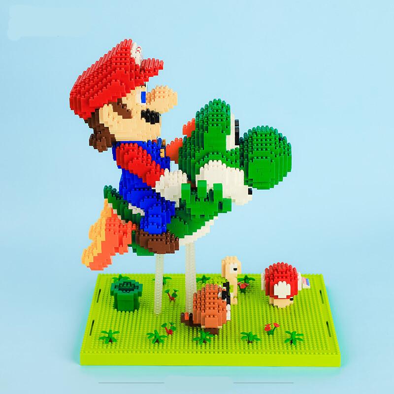 BALODY 16168 Super Mario Fly With Yoshi