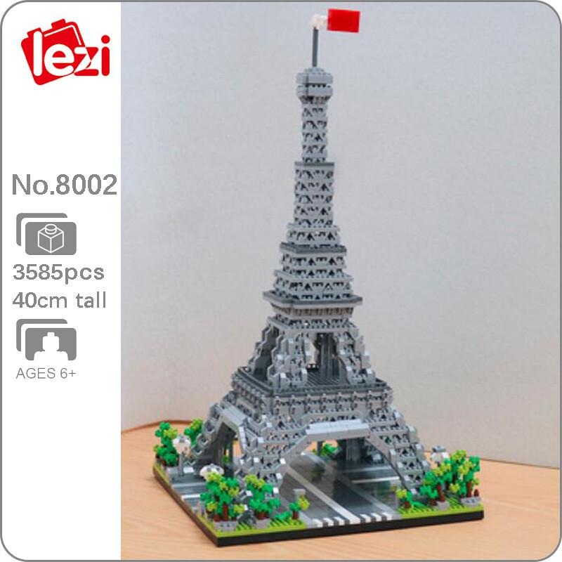 LEZI 8002 The Eiffel Tower Paris Brickheadz