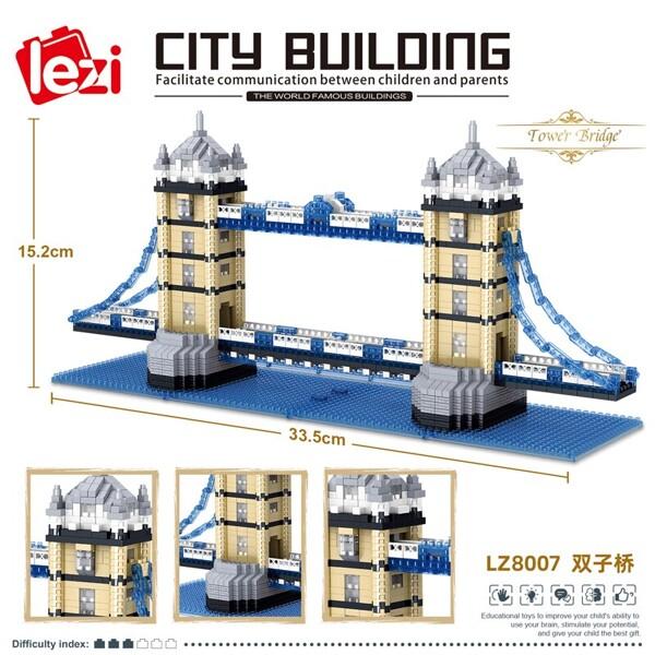 LEZI 8007 The Tower Bridge London