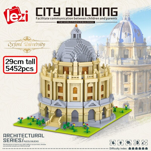 LEZI 8031 The Oxford University Brickheadz