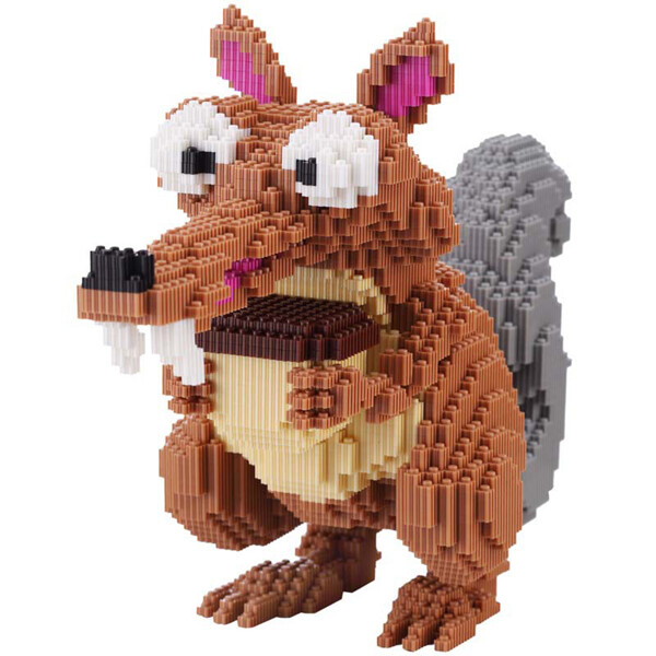 GPKSTAR 6709 Squirrel Nibble Oak Brickheadz