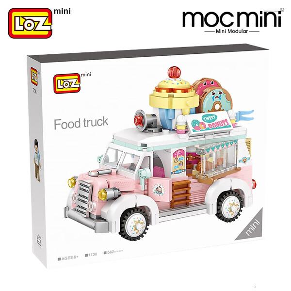 LOZ 1737 1738 Dessert Model Set