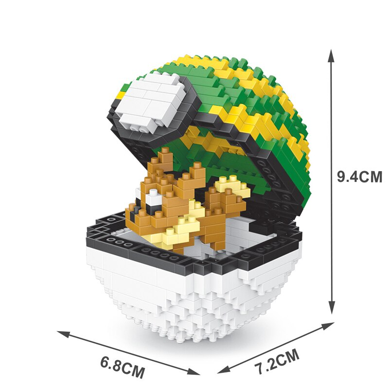 SC 311 Nest Ball Eevee Brickheadz