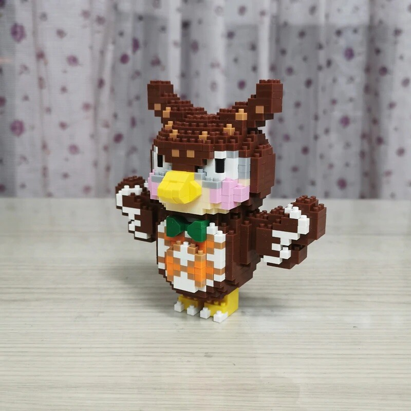 SC 4010-8 Crossing Owl Bird Blathers Brickheadz