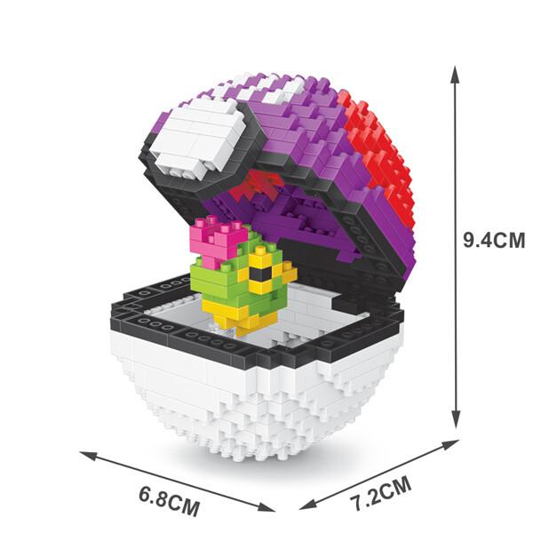 SC 305 Master Ball Caterpie Brickheadz